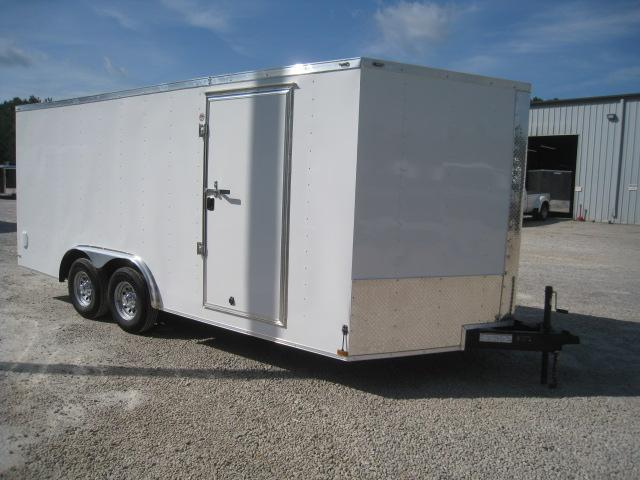 2019 Lark 18 Vnose Car / Racing Trailer with Dexter 5200LB Axles