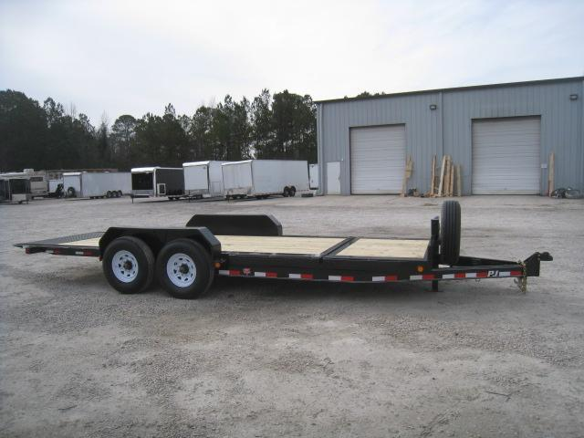 2019 PJ Trailers TJ 16 4 Tilt Bed Equipment Trailer