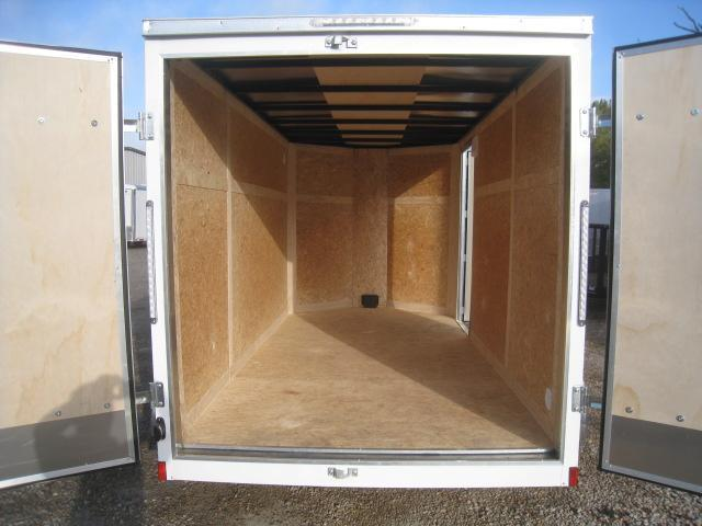2019 Pace American Journey 6x12 Tandem Axle Vnose Enclosed Cargo Trailer with Double Rear Doors