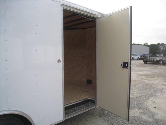 2019 Pace American Journey 8.5 x  16 Enclosed Cargo Trailer with 5200LB Axles