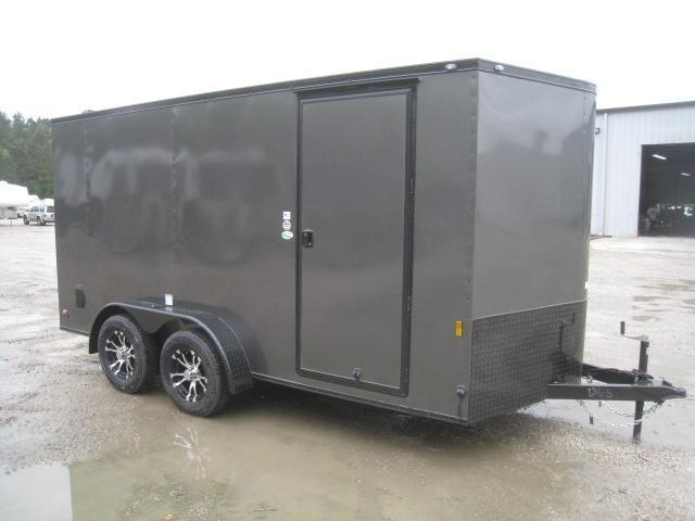 2020 Continental Cargo Sunshine 7 x 14 Vnose Enclosed Cargo Trailer in Dublin, NC