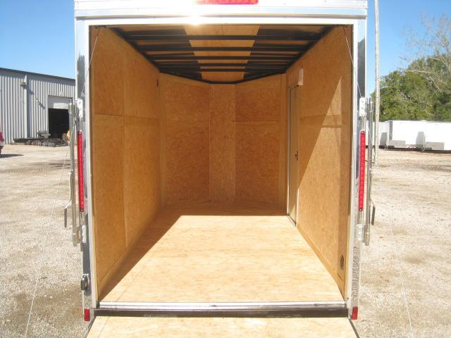 2019 Look Trailers Element 6x12 Vnose with Upgrades