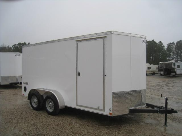 2019 Haulmark Transport Vnose 7 x 14 Enclosed Cargo Trailer in Mount Olive, NC