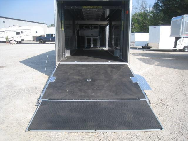 2019 Cargo Mate 28 Aluminum Eliminator Stacker Car / Racing Trailer