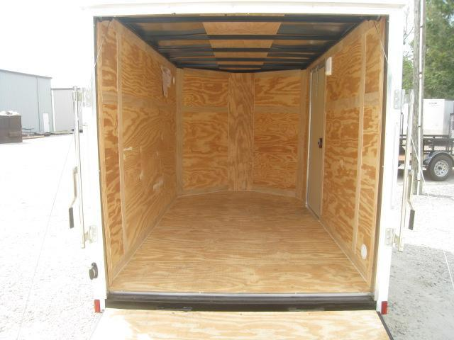 2019 Pace American Journey 6x10 Vnose Enclosed Cargo Trailer with Ramp Door