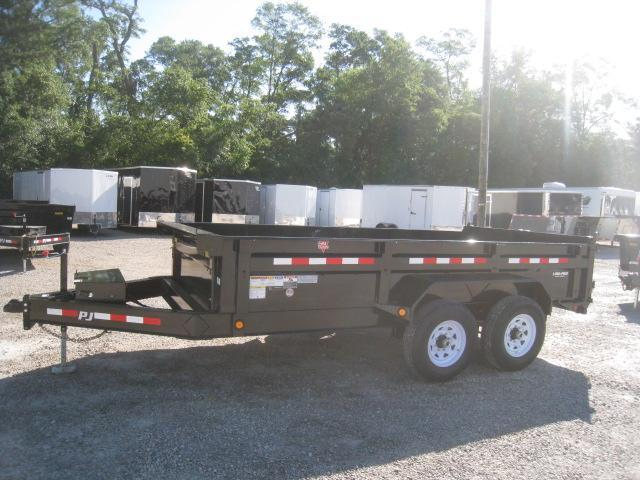 2020 PJ Trailers DL 14 X 83 Low Pro Dump Trailer
