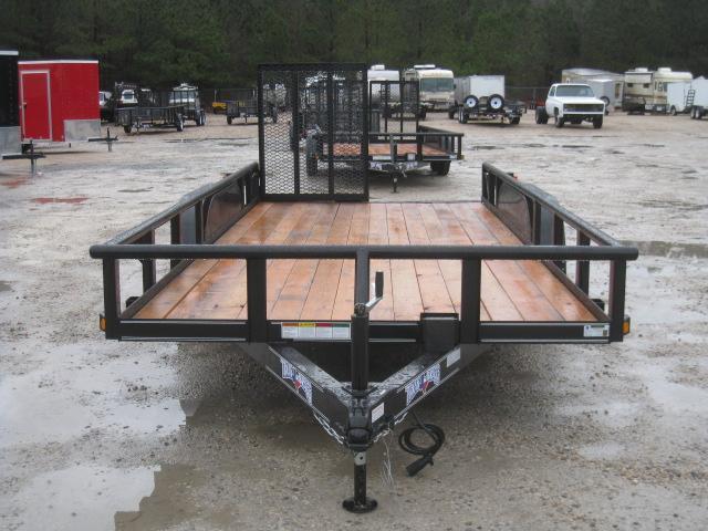 2019 Texas Bragg Trailers 16P Utility Trailer with Heavy Duty Rear Gates