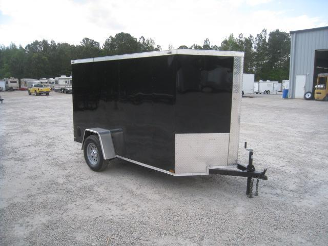 2019 Lark 5 X 10 Vnose Enclosed Cargo Trailer in Pinebluff, NC