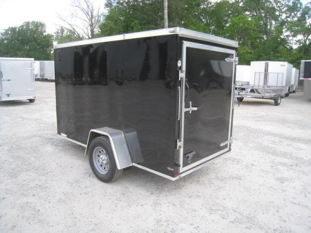 2019 Lark 5 X 10 Vnose Enclosed Cargo Trailer