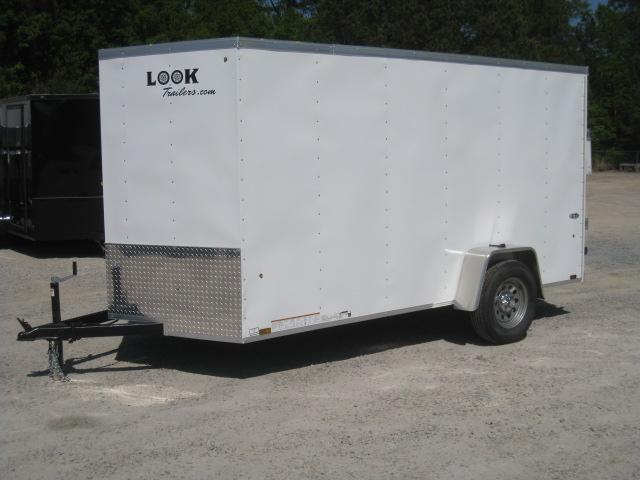 2019 Look Trailers ST Economy 6x12 Vnose Enclosed Cargo Trailer