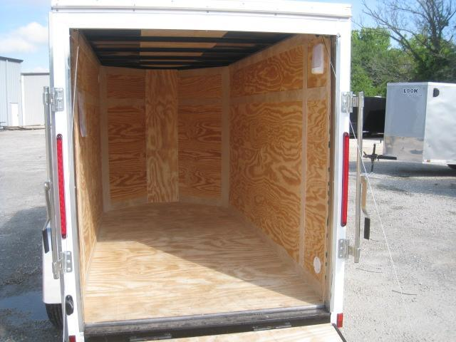 2019 Look Trailers Element 5x10 Vnose Enclosed Cargo Trailer