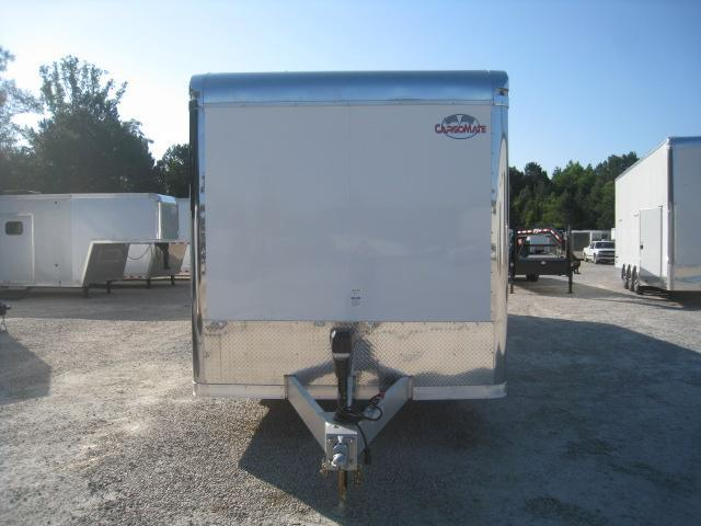 2019 Cargo Mate Aluminum Eliminator 34' Enclosed Auto Race Trailer with Cabinets on Sidewall