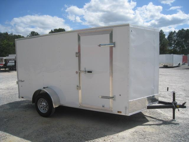 2019 Pace American Outback Economy 6x12 Vnose Enclosed Cargo Trailer