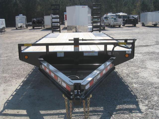 2018 PJ Trailers F8 20' Deckover Equipment Trailer