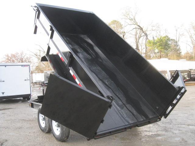 "2019 PJ Trailers DR 14'  x 83"" 36"" High Side Dump Trailer"