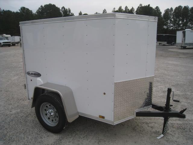 2019 Pace American Journey 4x6 Vnose Enclosed Cargo Trailer