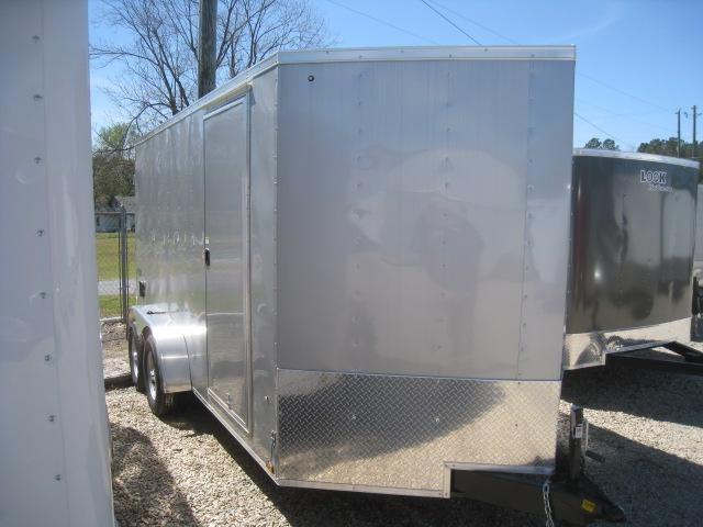 2019 Pace American Journey 7x14 Vnose Enclosed Cargo Trailer with Double Rear Doors