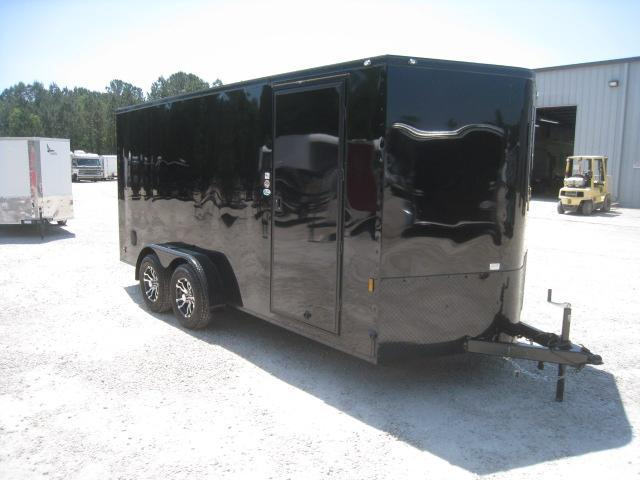 2020 Continental Cargo Sunshine 7 x 16 Vnose Enclosed Cargo Trailer in Dublin, NC