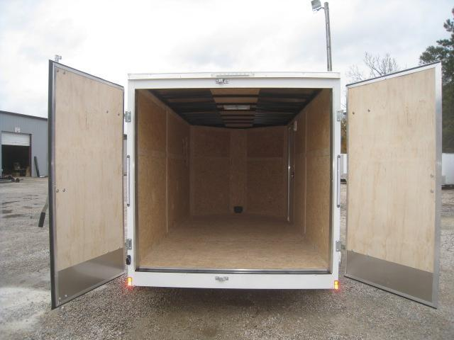 2019 Pace American Journey 7 x 14 Vnose Enclosed Cargo Trailer with Double Rear Doors