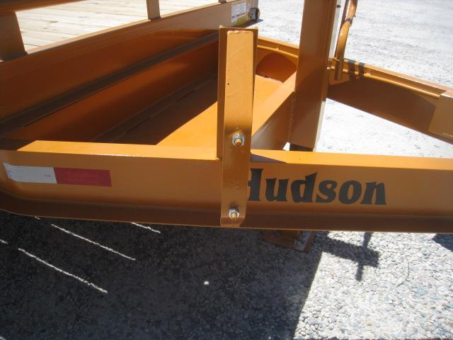 2019 Hudson Brothers (7) Ton 21' Deckover Equipment Trailer