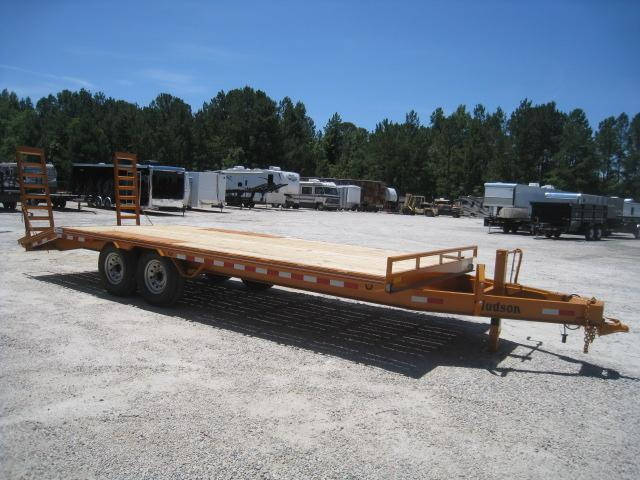 2019 Hudson Brothers (7) Ton 21' Deckover Equipment Trailer