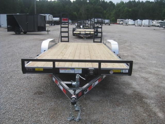 2019 PJ Trailers C5 16'+2' Dovetail Car / Racing Trailer