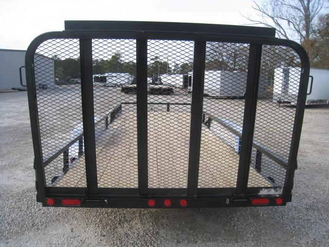 2019 PJ Trailers UL 83 X 20 Utility Trailer with Rear Gate and ATV Ramps