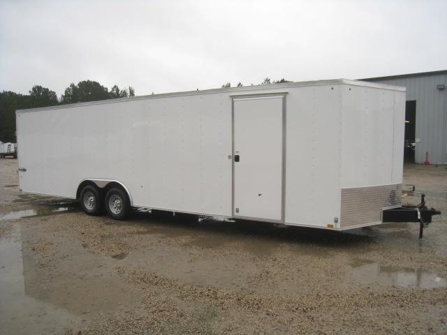 2019 Look Trailers Element 8.5x28 Vnose Race Trailer