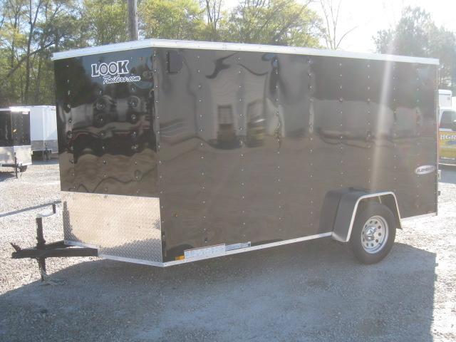 2019 Look Trailers Element 6x12 Vnose Enclosed Cargo Trailer