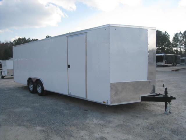 2019 Pace American Journey 8.5x24  Car / Racing Trailer with 5200lb Axles