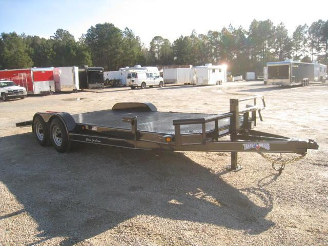 2018 Texas Bragg Trailers 20' Classic Car Carrier with Full Metal Deck