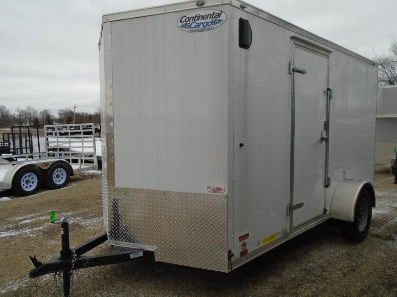 2018 Continental Cargo V 6x12 Series Enclosed Cargo Trailer