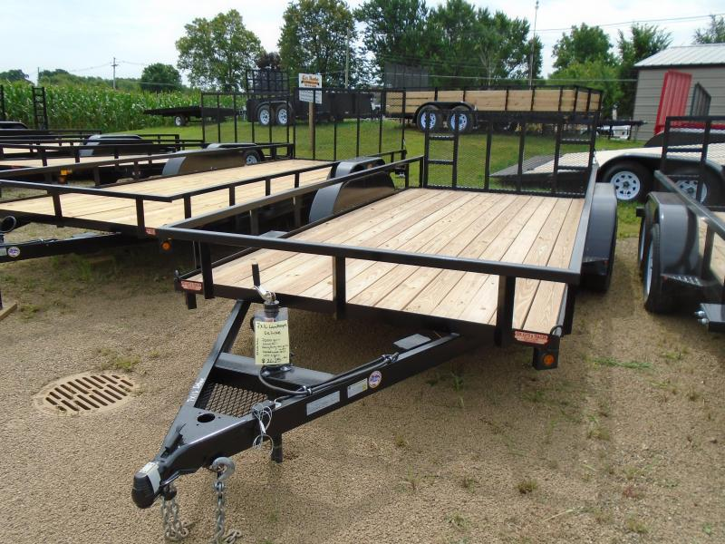 2019 GE 7x16 Deluxe Landscape Utility Trailer