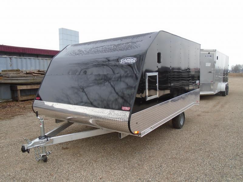 2019 Cargo Express 8.5x12 Apex Snowmobile Trailer