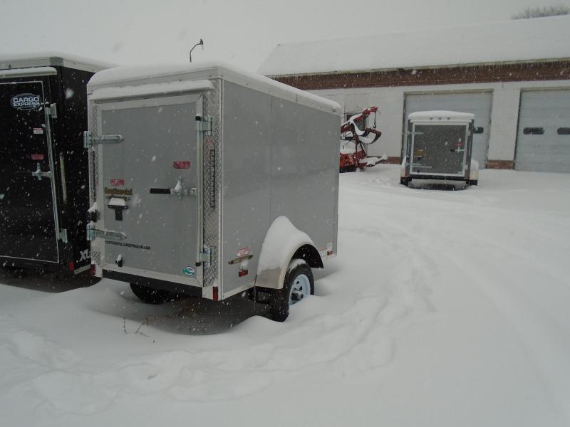 2018 Continental Cargo V Series 4x6 Enclosed Cargo Trailer