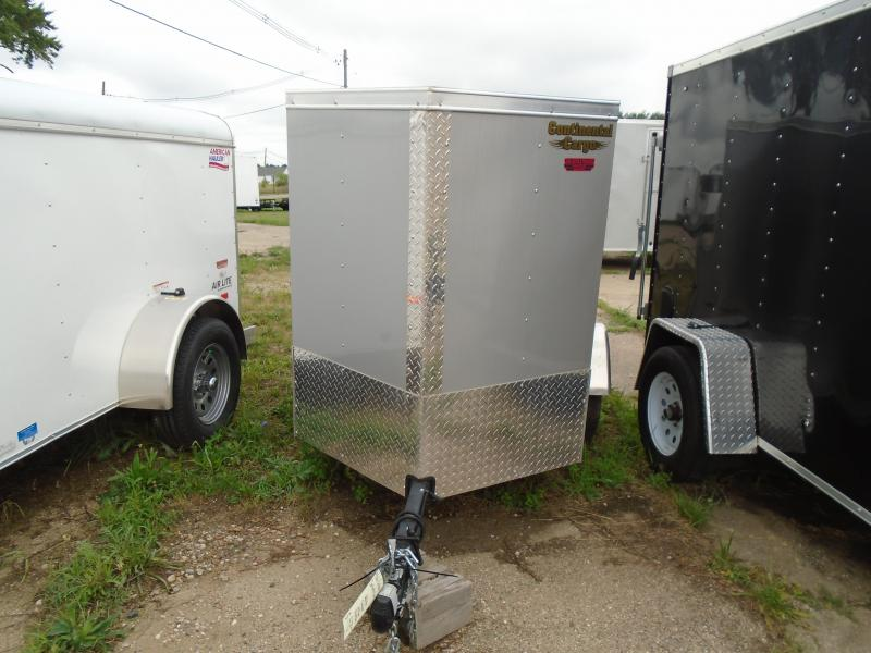 2018 Continental Cargo V Series 4x6 Enclosed Cargo Trailer