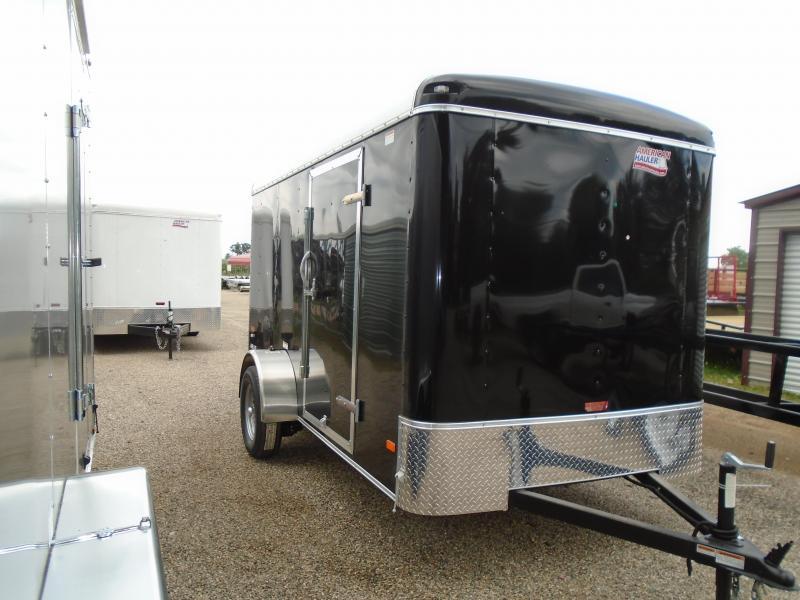 2019 American Hauler Industries 6x12 Air Light Enclosed Cargo Trailer