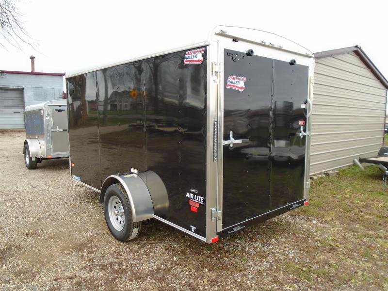 2019 American Hauler Industries 6x12 Air lite cargo/ enclosed trailer