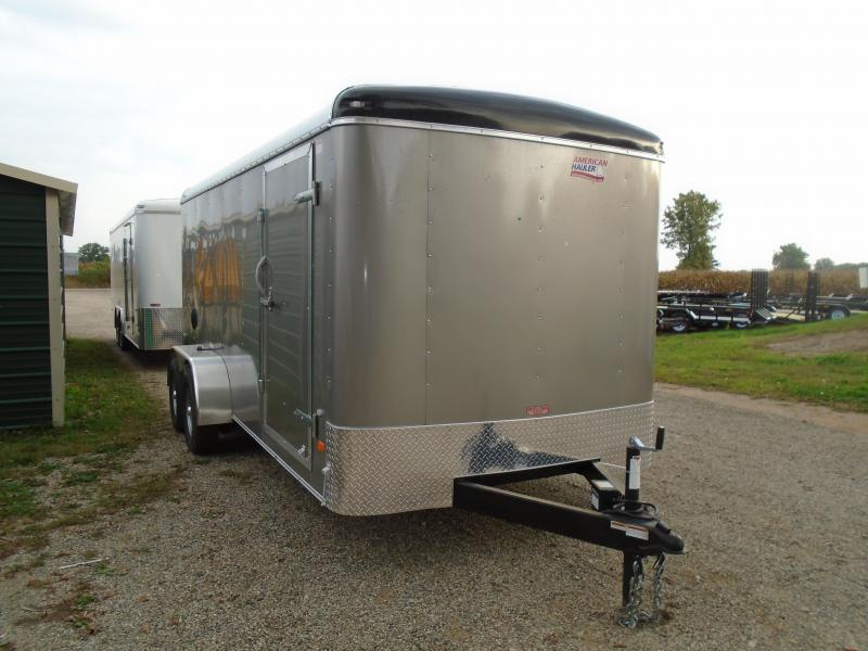 2019 American Hauler Industries 7x16 Air lite Enclosed Cargo Trailer