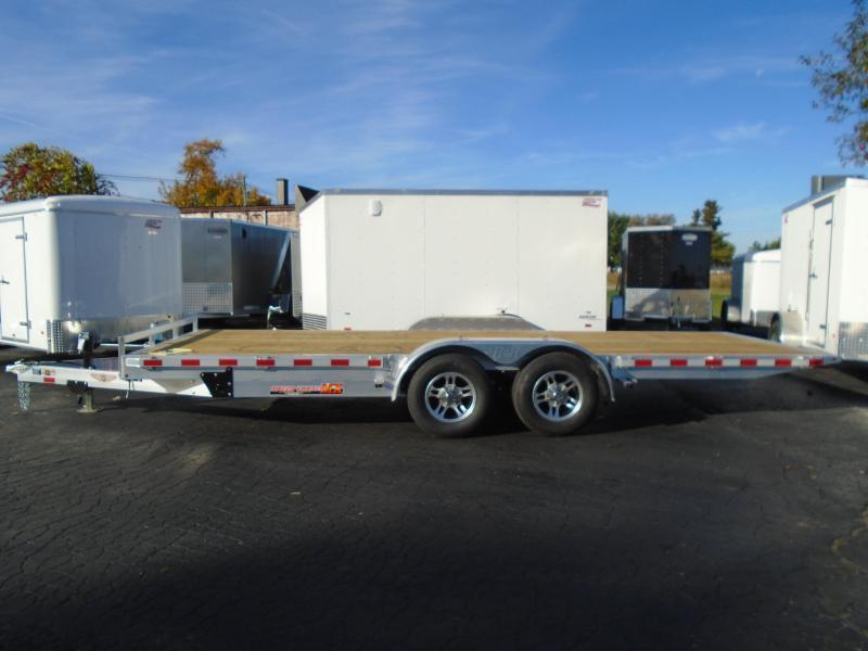 H and H Aluminum 8.5 X 20Speed Loader MX Tilt Trailer
