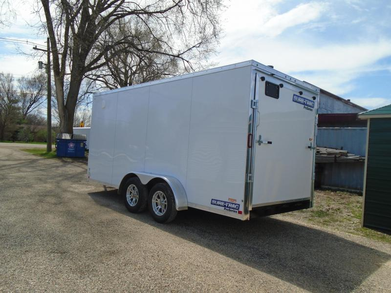 2019 Sure-Trac 7x16 7k Pro Series Enclosed Cargo Trailer