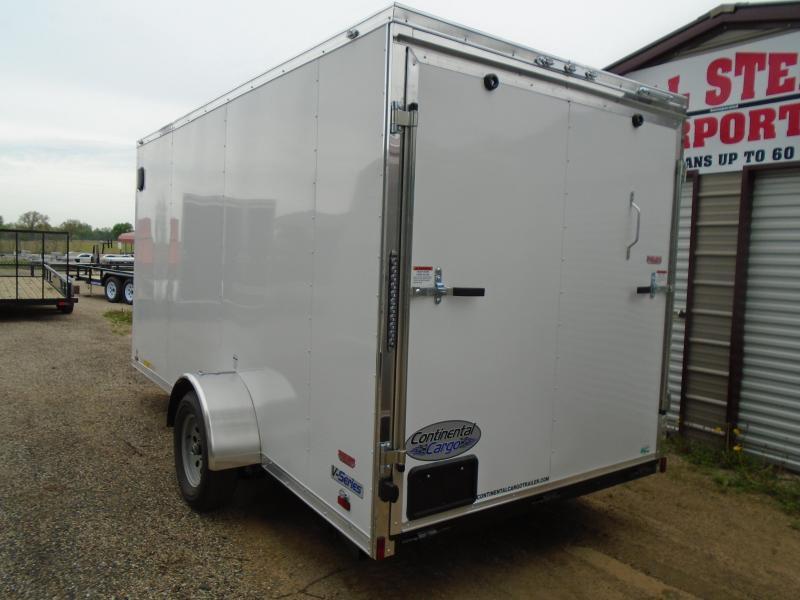 2019 Continental Cargo V Series 6x14 Enclosed Cargo Trailer