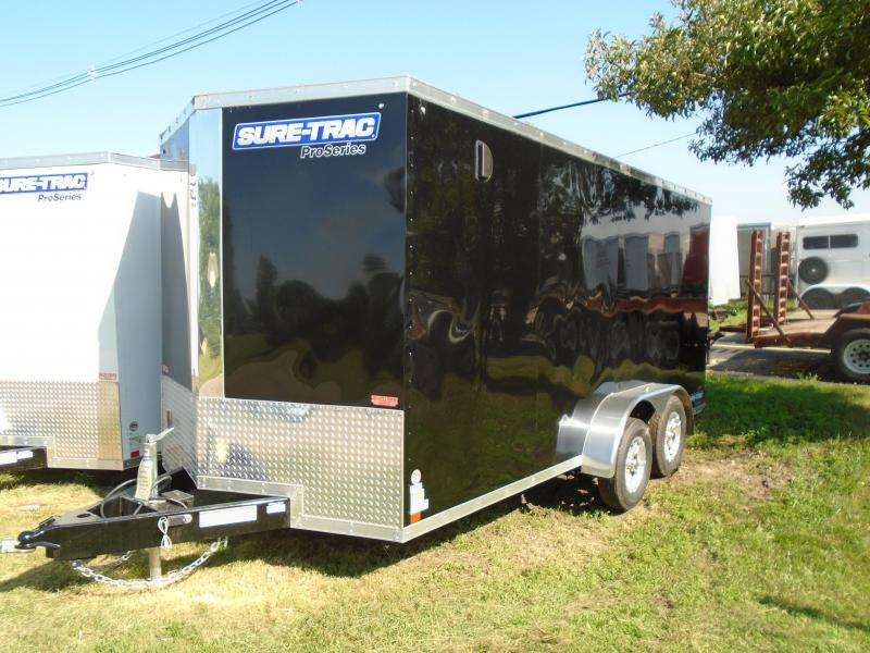 2019 Sure-Trac 7x16 7k Enclosed Cargo Trailer