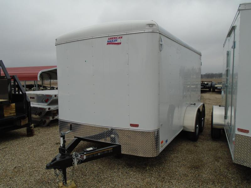 2018 American Hauler Industries 7x14 Air Light Enclosed Cargo Trailer