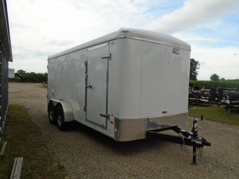 2019 American Hauler Industries 7x16 Air Light Enclosed Cargo Trailer