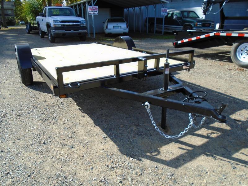 2018 GE 6.5 X 12 Utility Flatbed ATV/UTV Trailer in Ashburn, VA