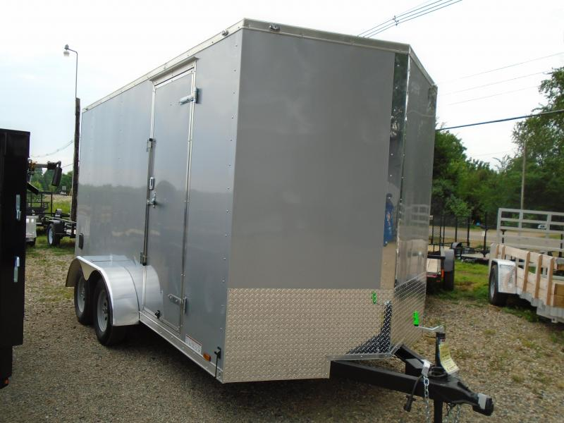 2019 Continental Cargo V Series 7x14 Enclosed Cargo Trailer