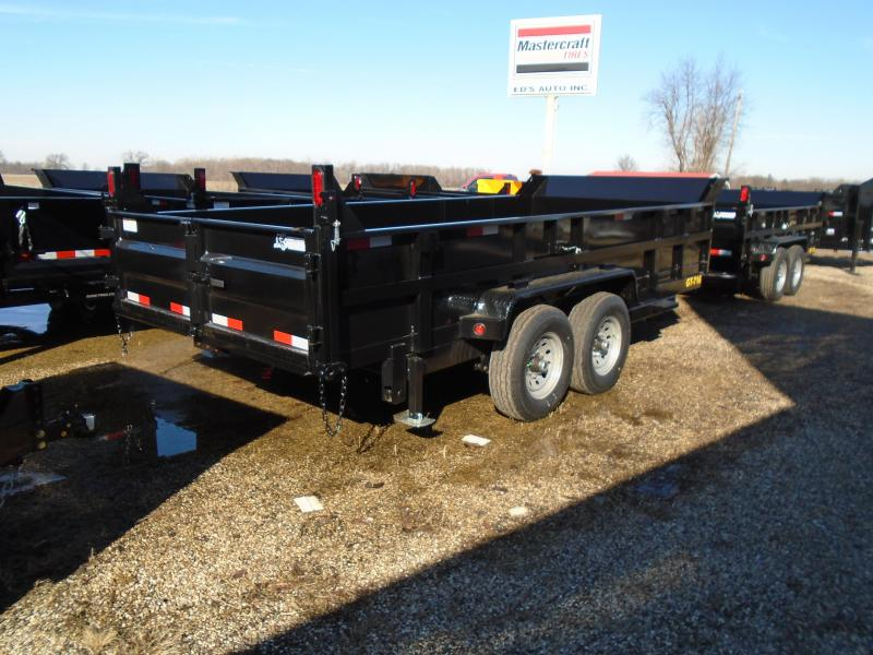 2019 Interstate 7x16 14k Dump Trailer