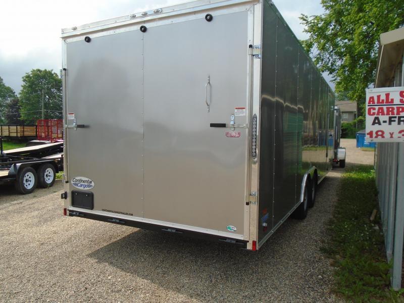 2019 Continental Cargo V Series 8.5x26 Enclosed Cargo Trailer