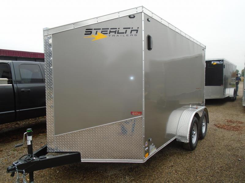2019 Stealth Trailers 7x12 Enclosed Cargo Trailer